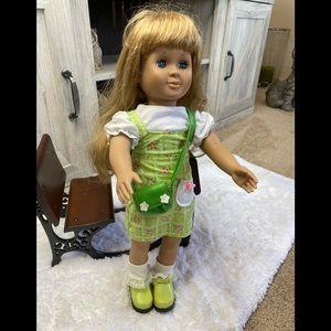 1998 BATTAT 18' Doll Blond Hair Blue Eyes